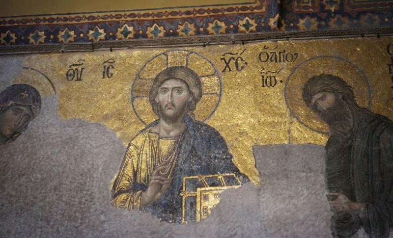 Byzanz in der Hagia Sofia © Jörn Staeger