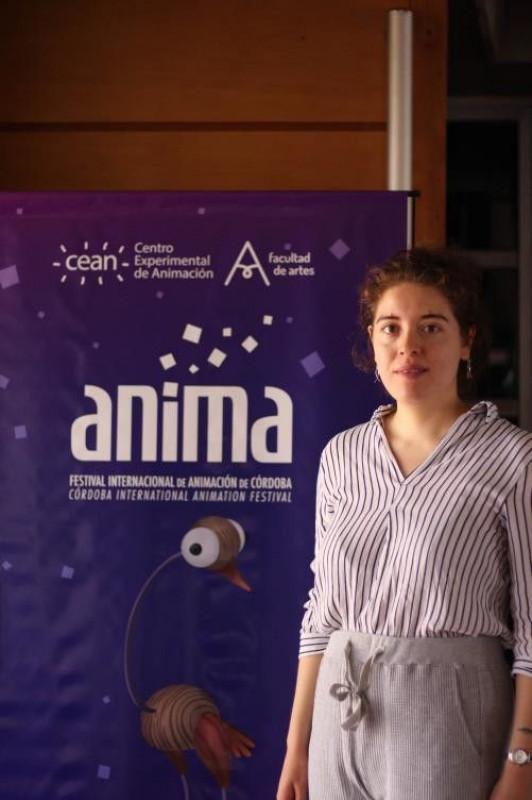 vor dem ANIMA Logo © Ricarda Saleh