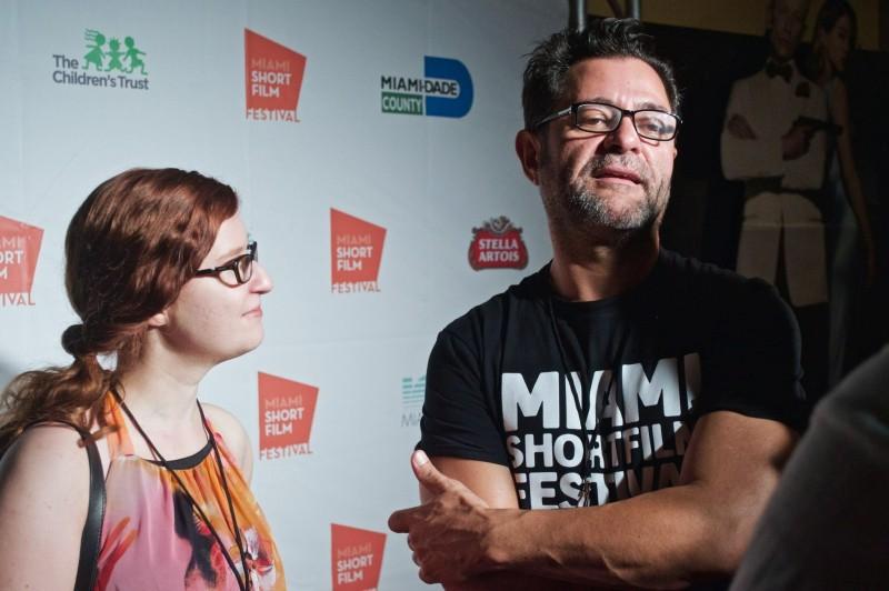Eva Merz mit William Vela