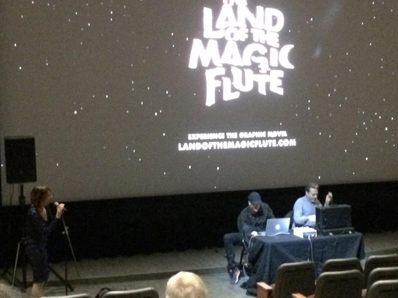 Magic Flute Performance am Eröffnungsabend