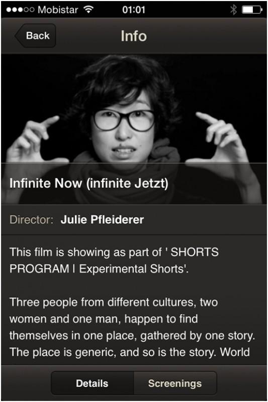 Infinite Jetzt in der FestivalApp