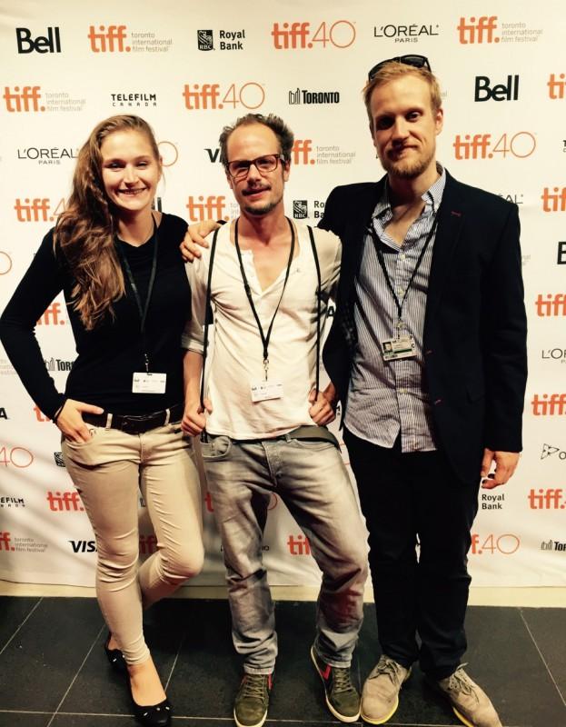 Clemens Roth und Charles Breitkreuz beim TIFF 2015
